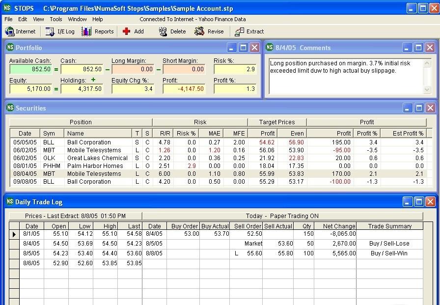 Ets trading system for metastock version 2