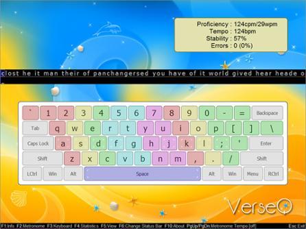 VerseQ typing