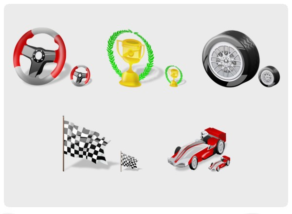 F1 Icons smiley face icons