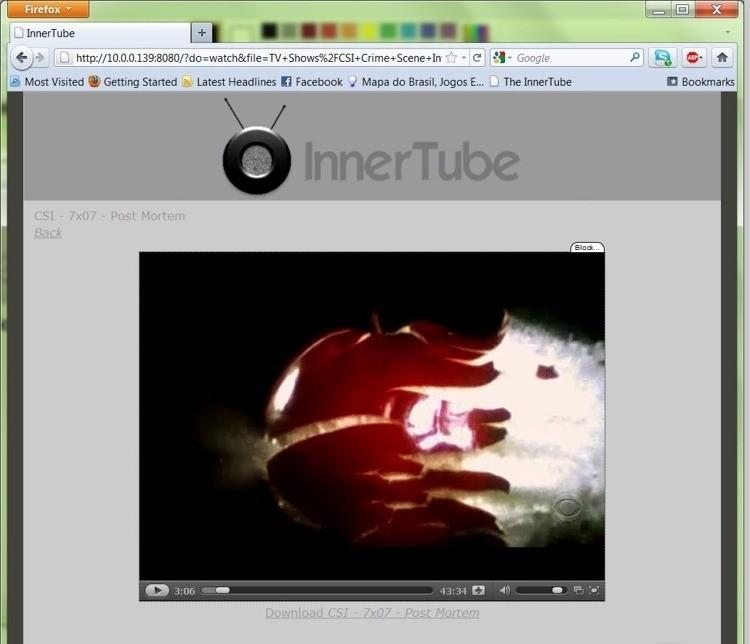 InnerTube yuvutu home videos
