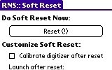 Soft Reset aim password reset