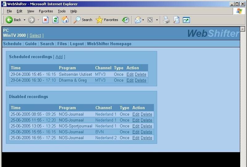 WebShifter