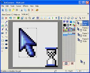ArtCursors warcraft iii cursor