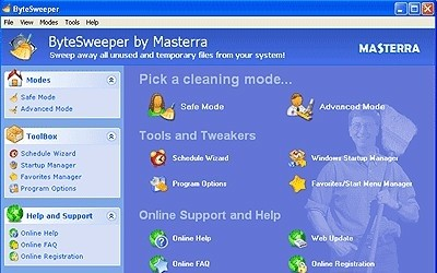 ByteSweeper removes unused and temporary files from your system. sweep