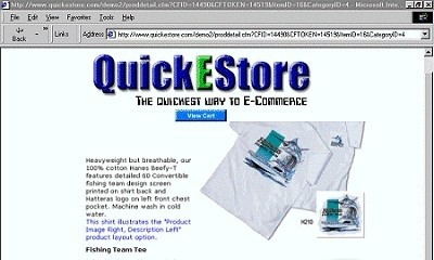 QuickEStore now features four one-click storefront wizards and built-in compa...