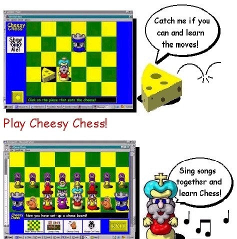 Cheesy Chess 3d chess screensaver
