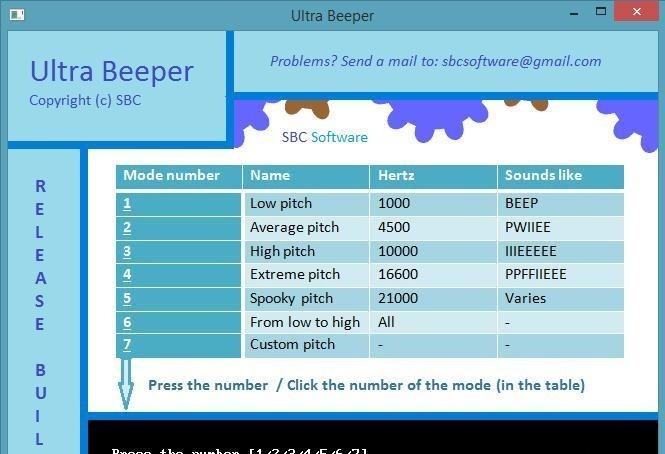 Ultra Beeper