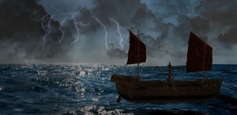 Stormy Sea 3D