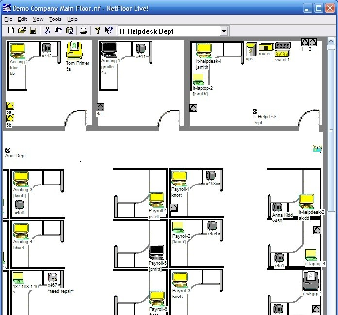 Design floor plans with excel quotes for Floor plan layout template