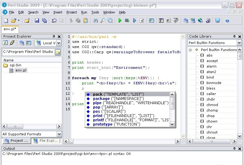 Perl Studio 2010