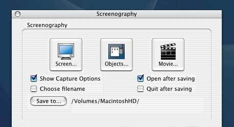 Screenography