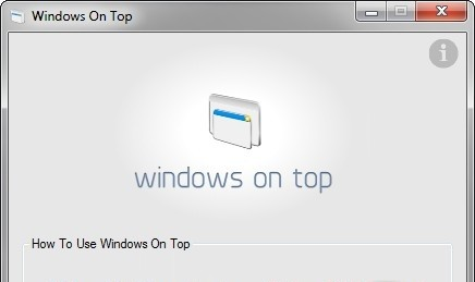 Windows On Top