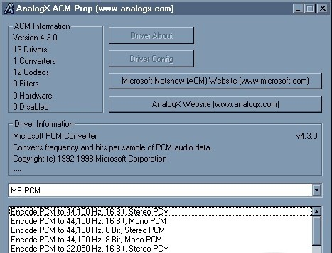 ACM Properties