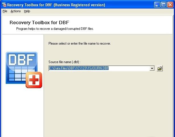 Лицензия. Windows. Скачать DBF Recovery Toolbox 2.1.2. Платформа. Дата