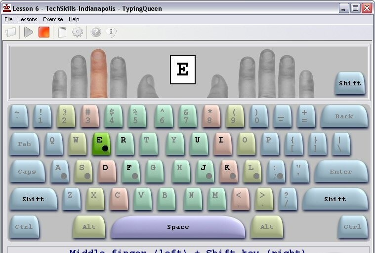 TypingQueen 2003 typing