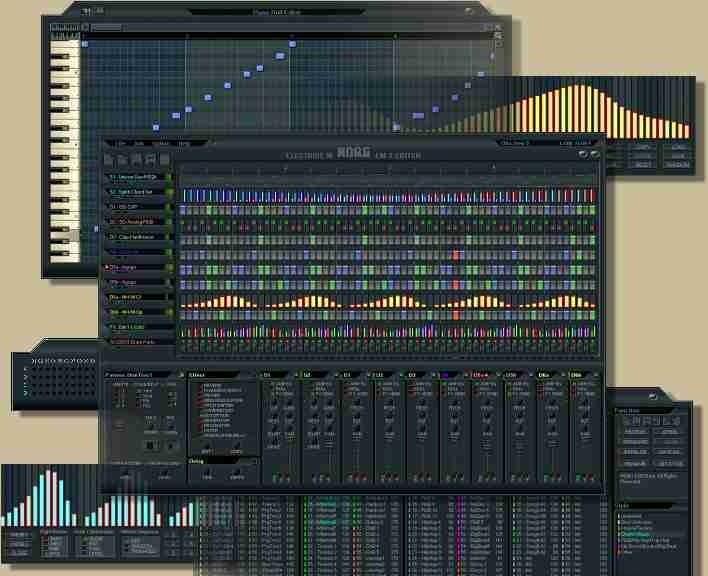 Korg EM-1 Editor sequencer