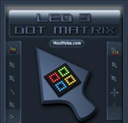 Led 3 Dot Matrix matrix