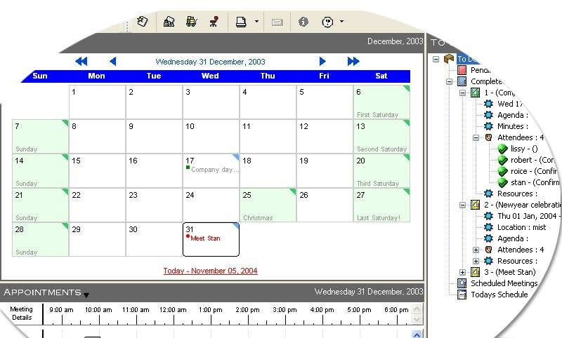 Meeting Manager - Schedule and keep track of your meetings meet24