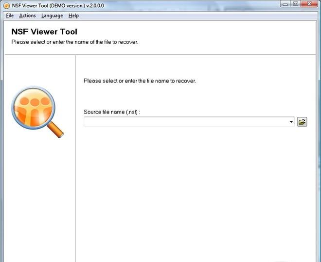NSF Viewer Tool