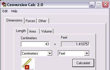 Conversion Calc