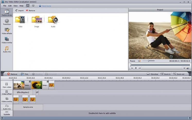 Audio Editor Master - визуальный многофункциональный аудио редактор. .