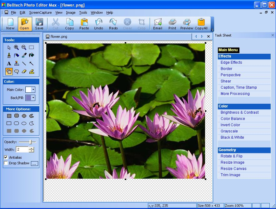 Photo editor effects free download for windows 7 descargar