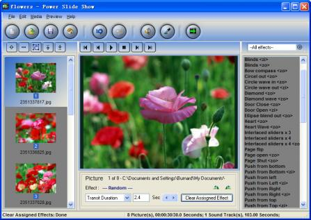 Power Slide Show photo slideshow maker