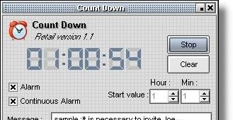 Count Down Timer - If you buy it
