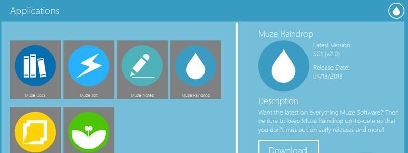 Muze Raindrop SC1