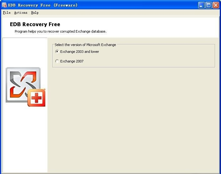 Скриншот Recovery Toolbox for Exchange Server 1.1.6. screen Recovery Toolbo