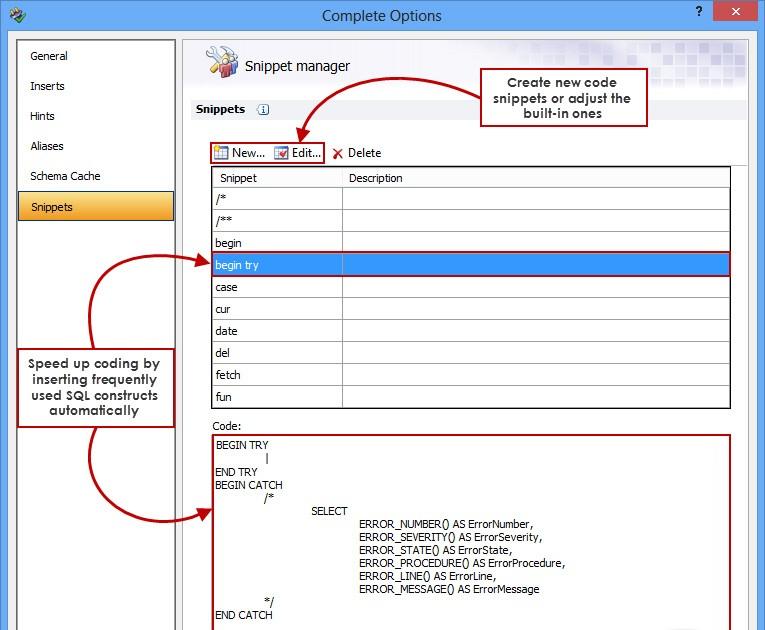 Apex SQL Complete