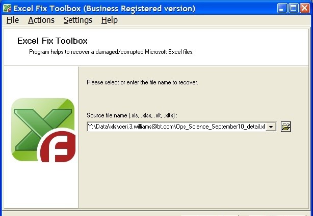 Recovery toolbox for excel install cracked