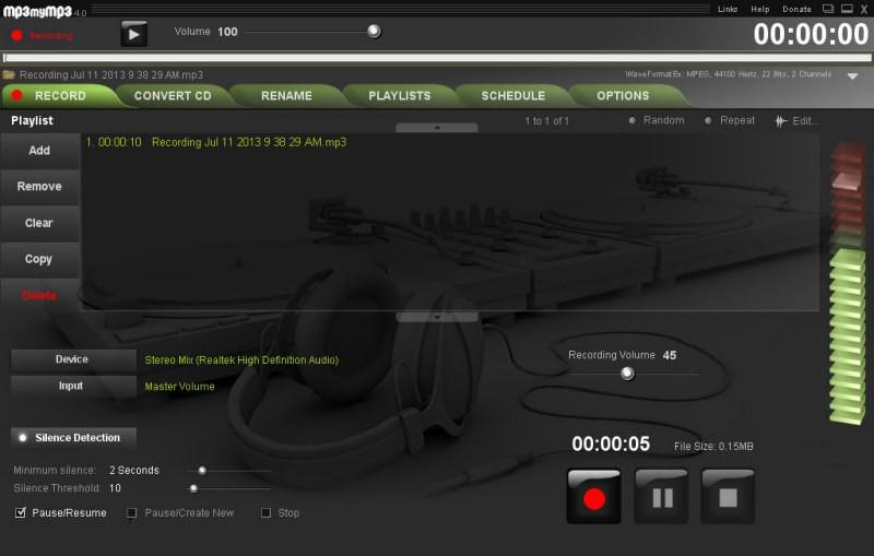 Mp3 My MP3 Recorder