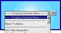 Scripting Modules javascript