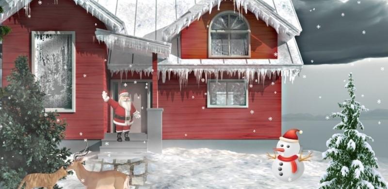 Snowy Christmas 3D