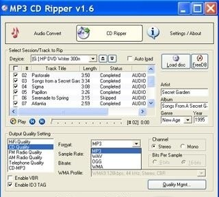 how to open cda music files
