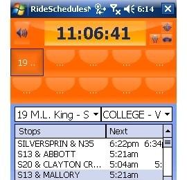 RideSchedulesMCTS