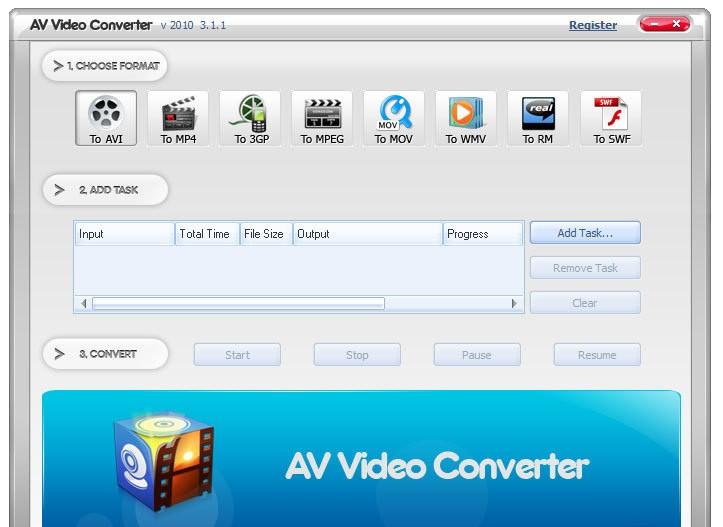 AV Video Converter 2010 v3.1.1. Скачать бесплатно: музыка, фильмы, софт, и