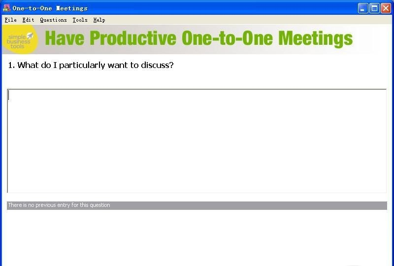 One-to-One Meetings meetings
