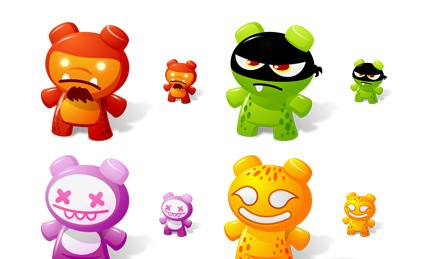 Art Toys Icons Vol.2 smiley face icons