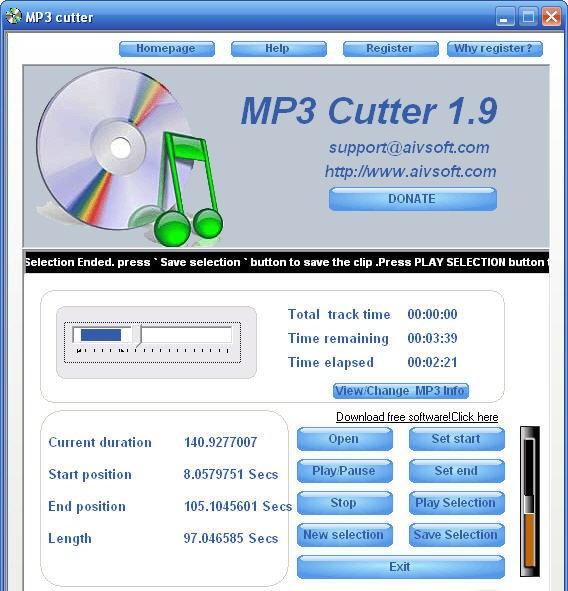 MP3 Cutter Software