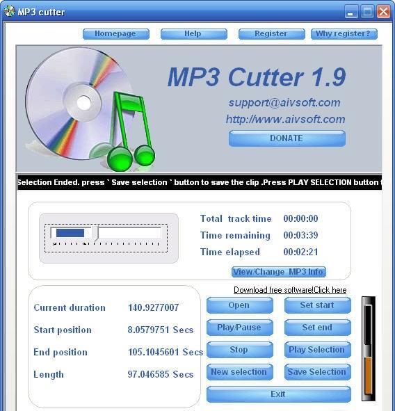 Mp3 Cutter Software Softwares Screen Saver Images Screen