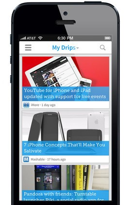 Drippler for iPhone