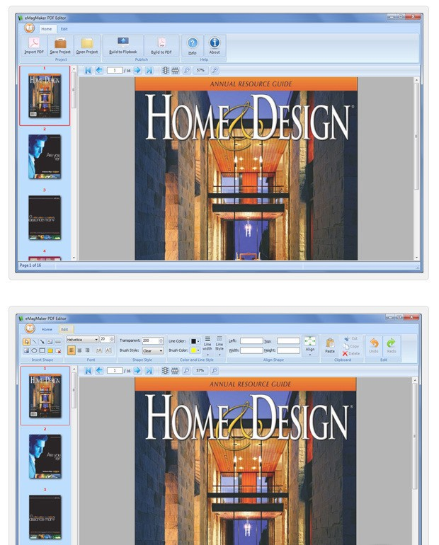 eMagMaker PDF Editor hyperterminal