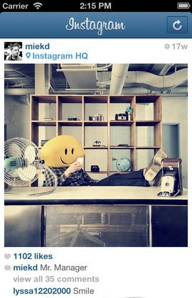 Instagram para Nokia instagram for java