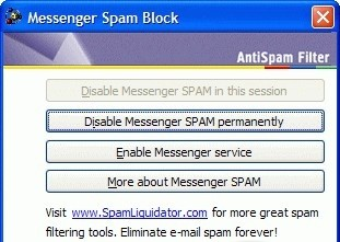 Messenger Spam Block qeep messenger
