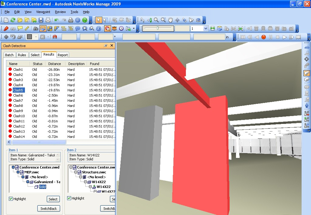 Necessary means to view designs created with Autodesk Navisworks Manage