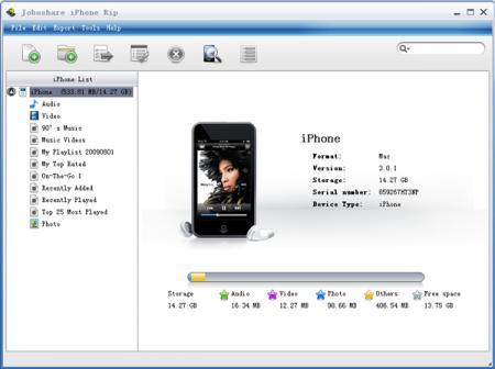 Joboshare iPhone Rip