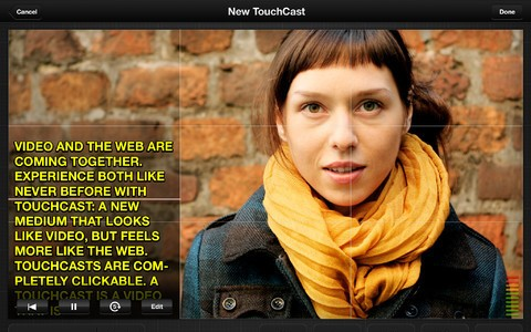 TouchCast for iPhone