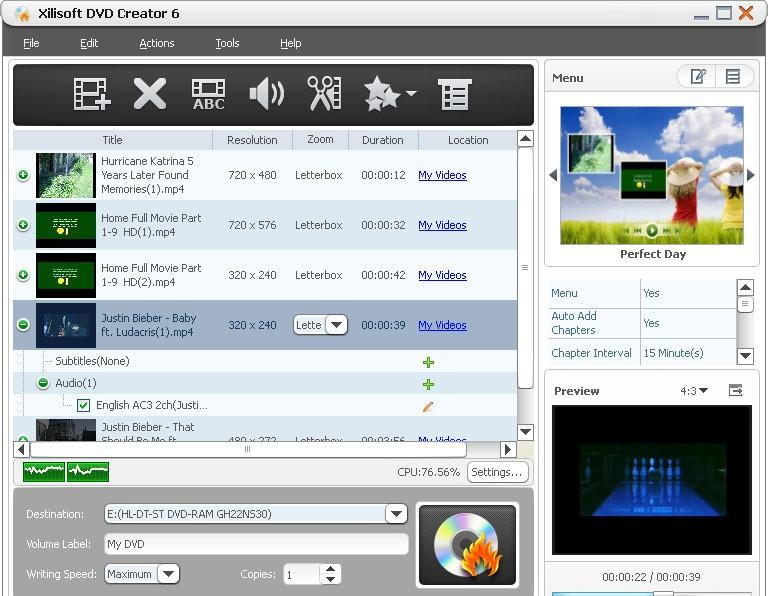 Скачать Xilisoft DVD Creator бесплатно. Скачать Abcc Free DIVX AVI MP4 WMV